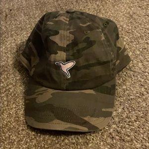 Birddogs free the bird camo hat that's adjustable